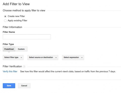Google Analytics Add Site