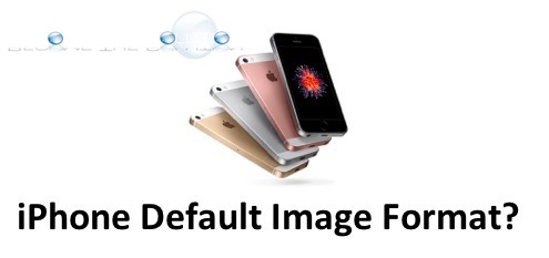 iPhone Change Picture Format