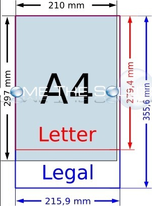All Printing Paper Sizes Mac X Windows