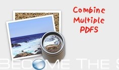 How To: Mac Combine PDF Documents into One