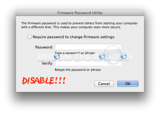 How To: Bypass Mac OS X Firmware Password