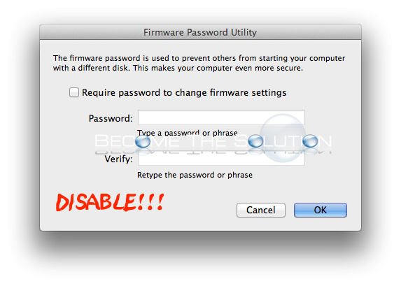 Fix: Bypass Mac Firmware Password