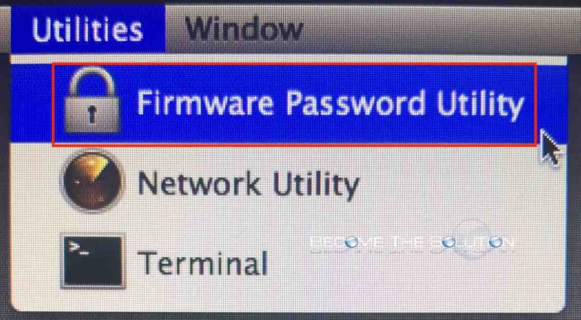 mac x firmware password reset utility