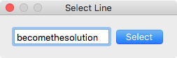How To: Mac TextEdit Go to Line