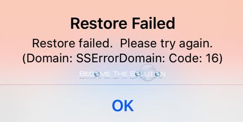 Fix: SSErrorDomain: Code:16 – App Store