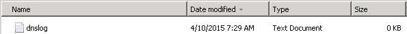 Set DNS Windows
