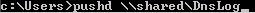 Push DNS Command Windows