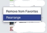 Facebook Groups Rearrange