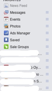 Facebook Groups Reorder