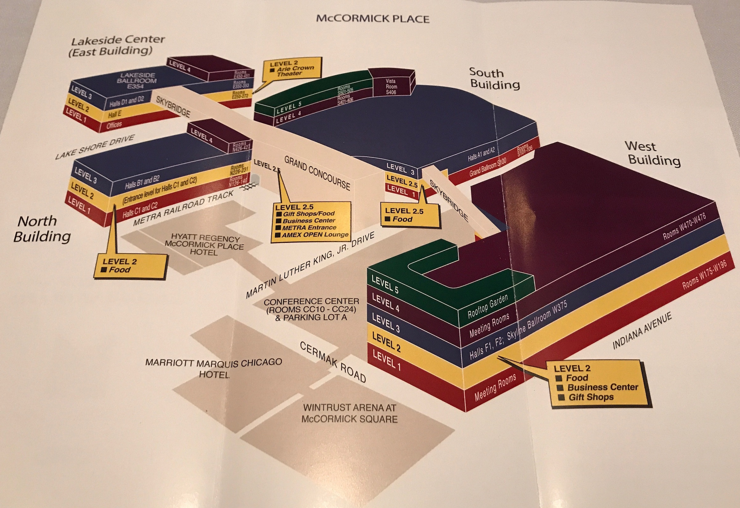 Mccormick place chicago map