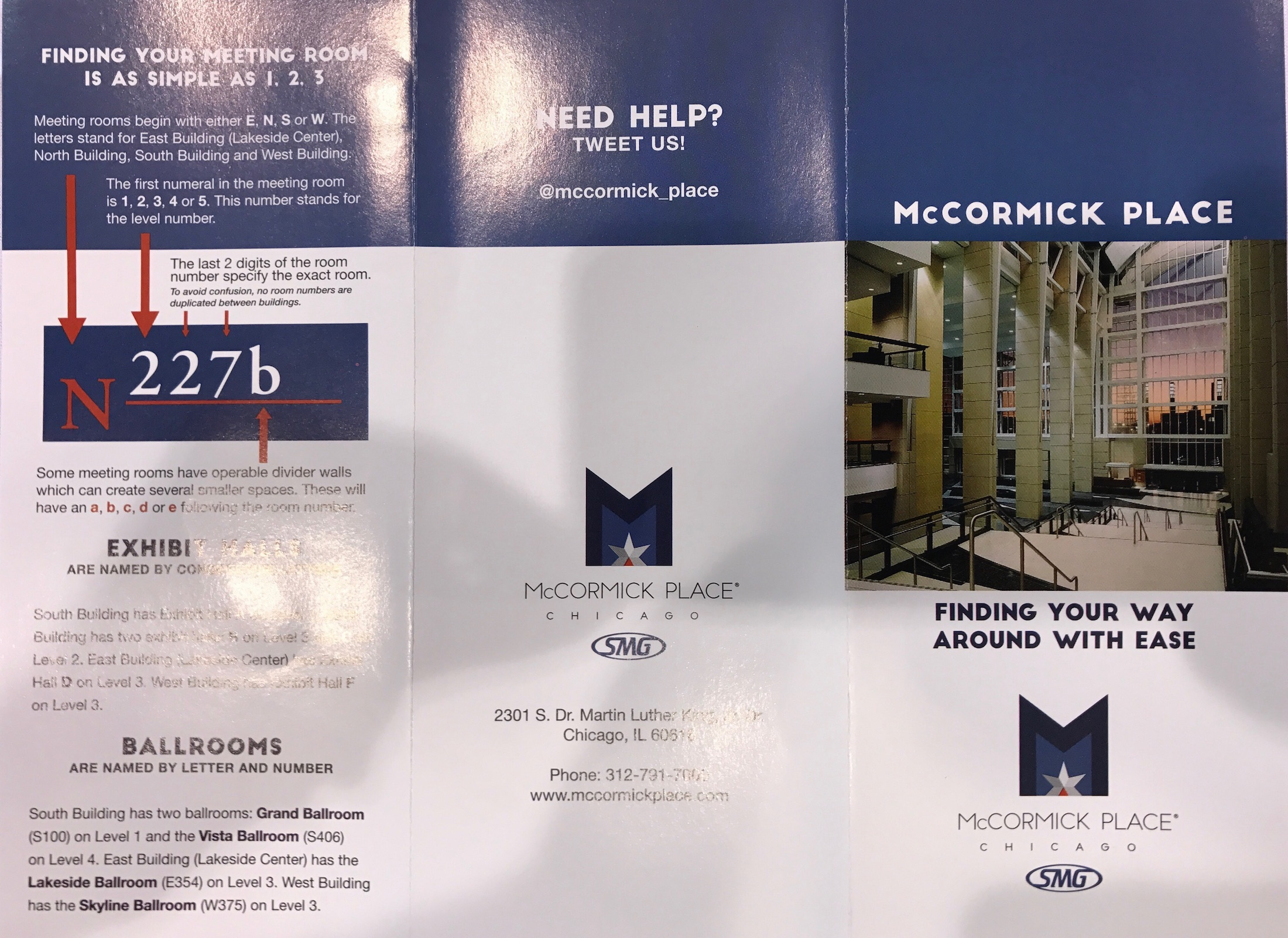 mccormick place chicago pamphlet